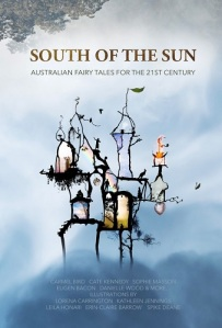 "Book cover for ""South of the Sun"""